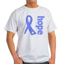 Hope Ribbon Stomach Cancer T-Shirt