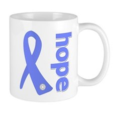 Hope Ribbon Stomach Cancer Mug
