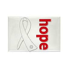 Hope Awareness Ribbon Rectangle Magnet