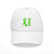Hope Lime Green Ribbon Baseball Cap