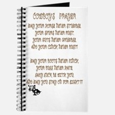 cowboy prayer Journal