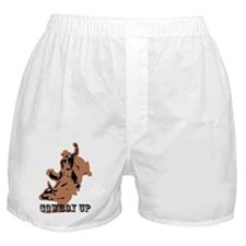 cowboy up Boxer Shorts