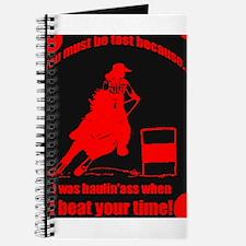 haulin ass barrel racer Journal