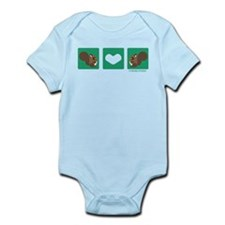 """Squirrel + Squirrel"" Infant Bodysuit"