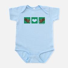 """""""Squirrel + Squirrel"""" Infant Bodysuit"""