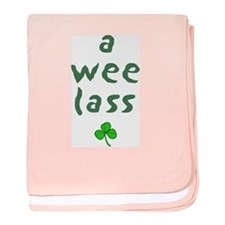 A Wee Lass Infant Blanket