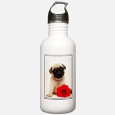 Pug Puppy Water Bottle
