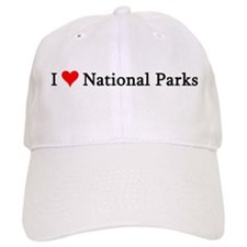 I Love National Parks Baseball Cap