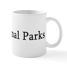 I Love National Parks Mug