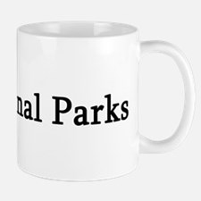 I Love National Parks Mug
