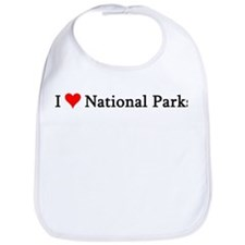 I Love National Parks Bib