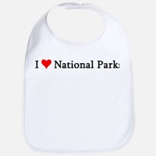 I Love National Parks Bib