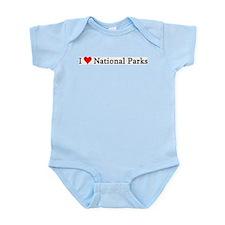I Love National Parks Infant Creeper