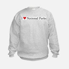 I Love National Parks Sweatshirt