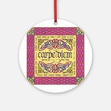 Carpe Diem Ornament (Round)