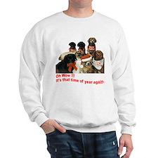 Christmas Wow Sweatshirt