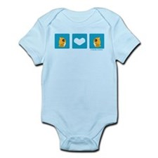 """Hamster + Hamster"" Infant Bodysuit"