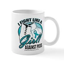 PCOS I Fight Like A Girl Mug
