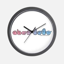PinkBlue SIGN BABY Wall Clock