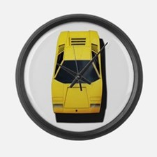Lambo Large Wall Clock