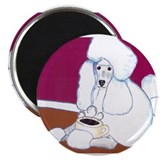 Poodle coffee Magnets