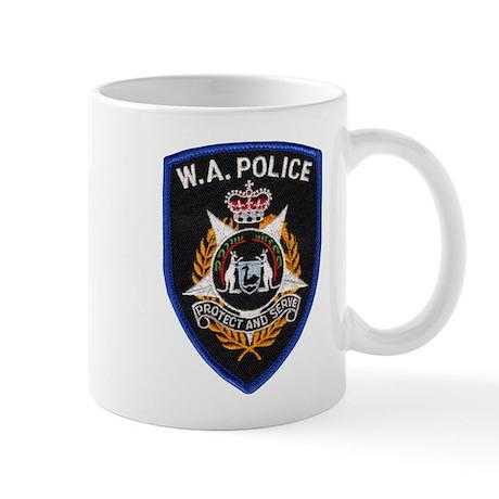 West Australia Police Mug