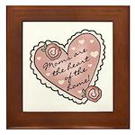 Heart of the Home Framed Tile