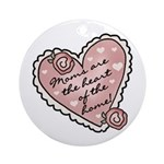 Heart of the Home Ornament (Round)