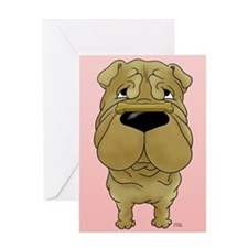Shar-Pei Valentine's Day Greeting Card