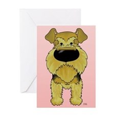 Airedale Valentine's Day Greeting Card