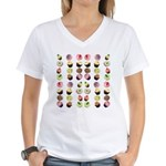 Cupcakes Women's V-Neck T-Shirt