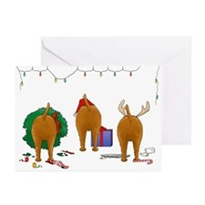 Irish Terrier Christmas Greeting Cards (Pk of 20)