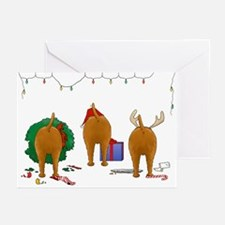 Irish Terrier Christmas Greeting Cards (Pk of 20)