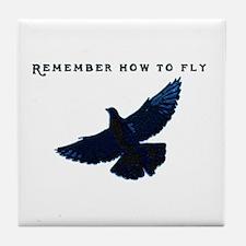 Pigeons Tile Coaster