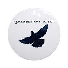 Pigeons Ornament (Round)