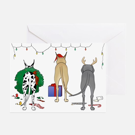 Great Dane Christmas Greeting Cards (Pk of 20)