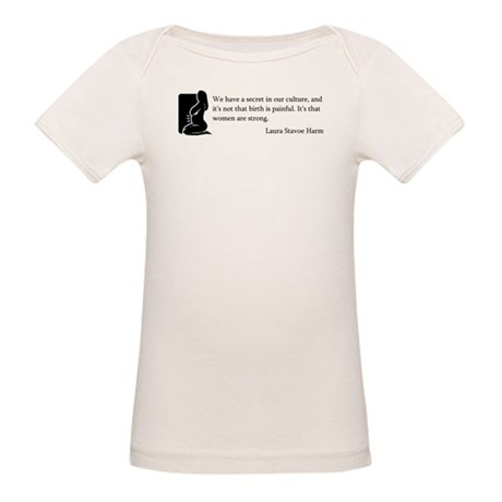 Women Are Strong Organic Baby T-Shirt