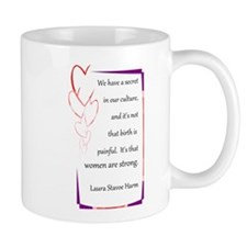Women Are Strong 4 Small Mug