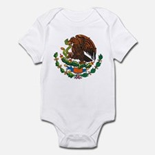 Mexican Coat of Arms Infant Creeper