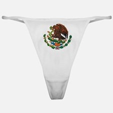 Mexican Coat of Arms Classic Thong