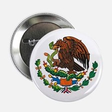 "Mexican Coat of Arms 2.25"" Button (10 pack)"