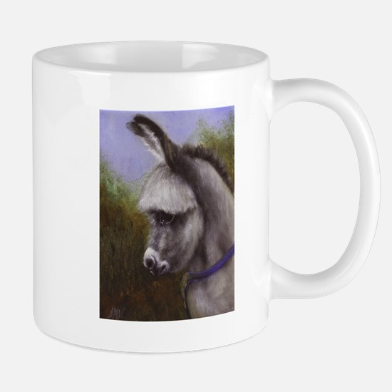 Mini Donkey Painting Horse Lover Art Coffee Mug