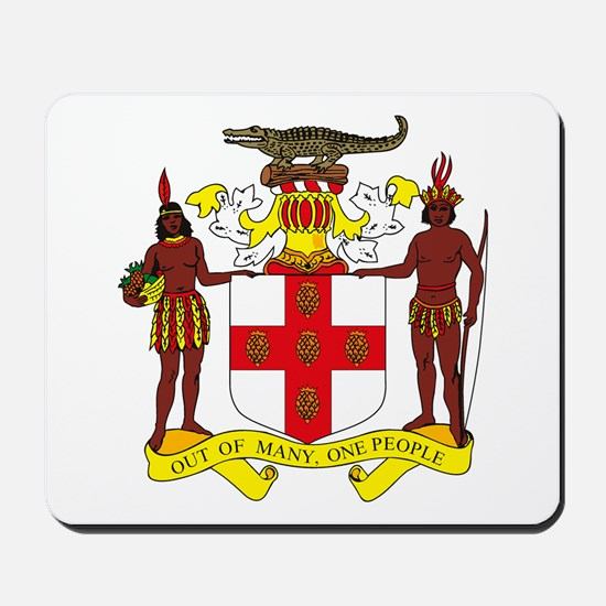 Jamaican Coat of Arms Mousepad
