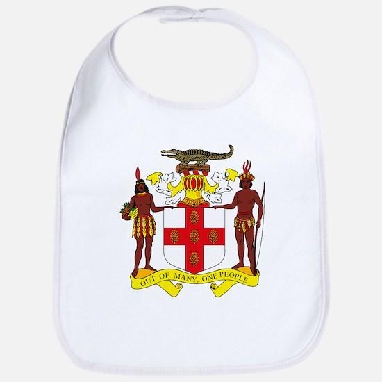 Jamaican Coat of Arms Bib