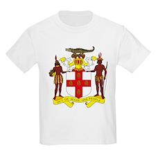 Jamaican Coat of Arms Kids T-Shirt