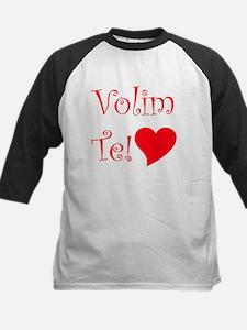 Volim Te (I Love You - Serbia Kids Baseball Jersey
