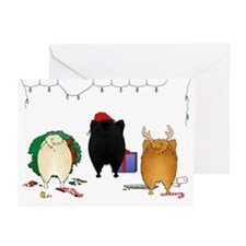Pomeranian Christmas Greeting Cards (Pk of 20)