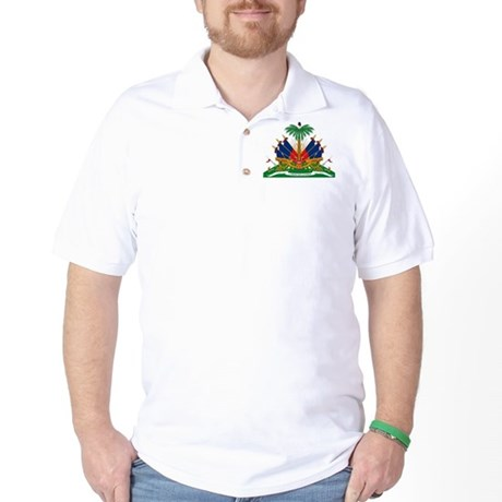 Haiti Coat of Arms Golf Shirt
