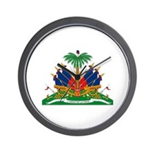 Haiti Coat of Arms Wall Clock
