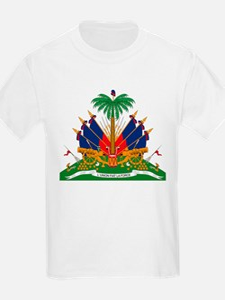 Haiti Coat of Arms Kids T-Shirt